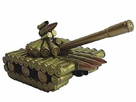 modèle réduit cartoucherie, Char Artillerie 6 - SCULPTURES / Objets Insolites