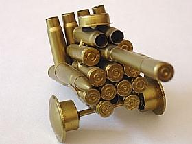 modèle réduit cartoucherie, Char Artillerie 2 - SCULPTURES / Objets Insolites