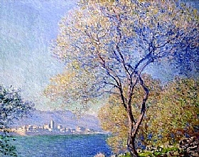 Claude Monet, Antibes vu de Salis - GRANDS PEINTRES / Monet