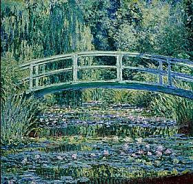Claude Monet, pont japonais et nymphéas - GRANDS PEINTRES / Monet
