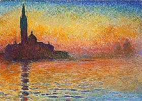 Claude Monet, Venise au crépuscule - GRANDS PEINTRES / Monet