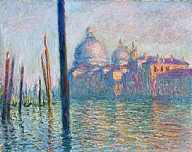 Claude Monet, le grand canal à Venise - GRANDS PEINTRES / Monet