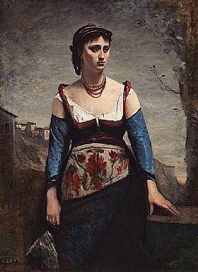 Camille Corot, Agostina - GRANDS PEINTRES / Corot