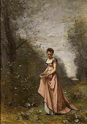 Camille Corot, Printemps de la vie - GRANDS PEINTRES / Corot
