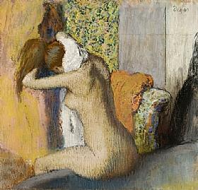Edgar Degas, Après le bain - GRANDS PEINTRES / Degas