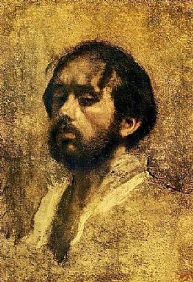 Edgar Degas, Autoportrait avec la barbe - GRANDS PEINTRES / Degas