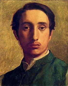 Edgar Degas, Autoportrait - GRANDS PEINTRES / Degas