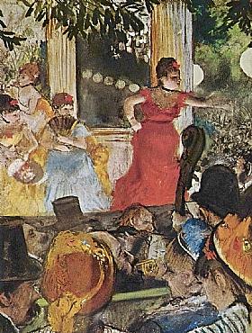Edgar Degas, Café concert aux Ambassadeurs - GRANDS PEINTRES / Degas