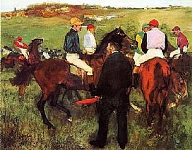 Edgar Degas, Courses à Longchamp - GRANDS PEINTRES / Degas