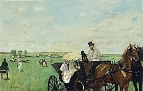 Edgar Degas, Courses de chevaux en province - GRANDS PEINTRES / Degas