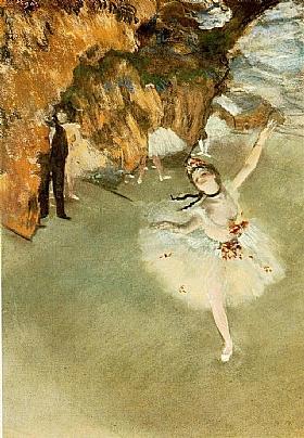 Edgar Degas, L'Etoile ou Danseuse sur Scène - GRANDS PEINTRES / Degas