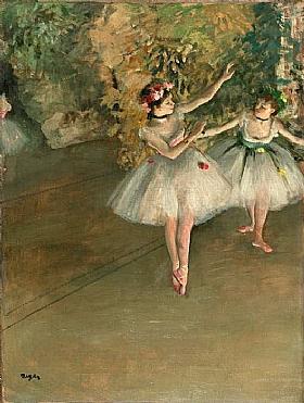 Edgar Degas, Deux danseuses - GRANDS PEINTRES / Degas