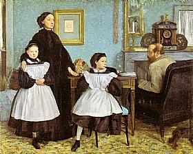 Edgar Degas, Famille Bellelli - GRANDS PEINTRES / Degas
