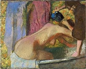 Edgar Degas, Femme au bain - GRANDS PEINTRES / Degas
