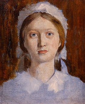 Edgar Degas, Madame Fevre - GRANDS PEINTRES / Degas
