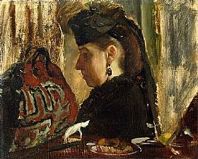 Edgar Degas, Mademoiselle Marie Dihau - GRANDS PEINTRES / Degas