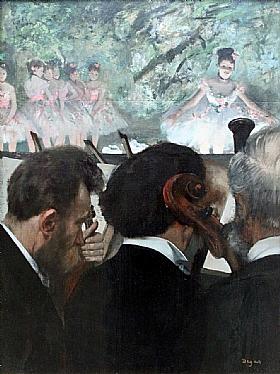 Edgar Degas, Les musiciens de l'Orchestre - GRANDS PEINTRES / Degas
