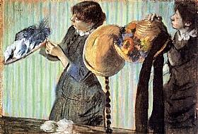 Edgar Degas, Les petites modistes - GRANDS PEINTRES / Degas