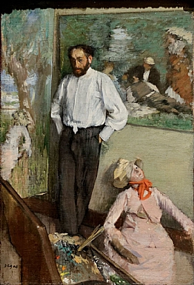Edgar Degas, Henri Michel Levy - GRANDS PEINTRES / Degas