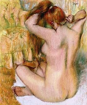 Edgar Degas, Toilette après le bain - GRANDS PEINTRES / Degas