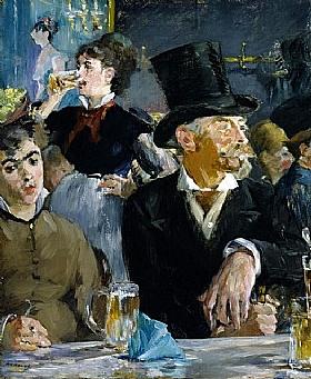 Edouard Manet, Café concert - GRANDS PEINTRES / Manet