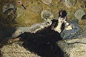 Edouard Manet,Dame aux éventails - GRANDS PEINTRES / Manet