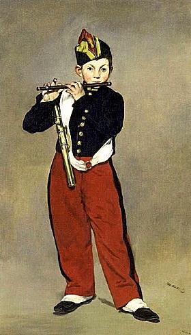 Edouard Manet, Le joueur de fifre - GRANDS PEINTRES / Manet