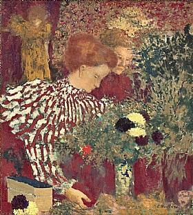 Edouard Vuillard, Femme au corsage rayé - GRANDS PEINTRES / Vuillard