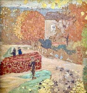 Edouard Vuillard, Maison Mallarmé à Valvins - GRANDS PEINTRES / Vuillard