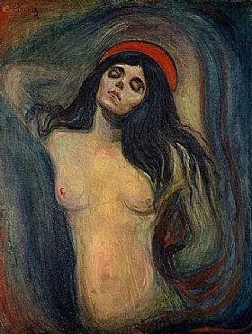 Edvard Munch, Madone - GRANDS PEINTRES / Munch