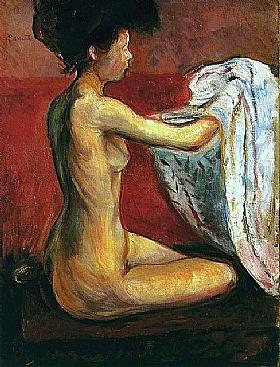 Edvard Munch, La parisienne nue - GRANDS PEINTRES / Munch