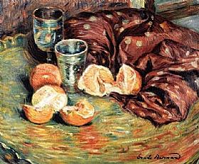 Emile Bernard, Nature morte aux oranges - GRANDS PEINTRES / Bernard