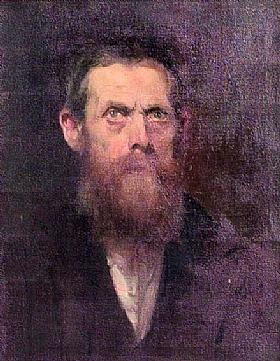 Eugène de Blaas, Autoportrait - GRANDS PEINTRES / Blaas
