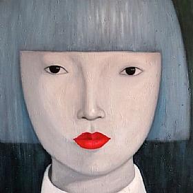 Expériences de vie, la femme de Shanghai - GRANDS FORMATS / 80cm x 80cm