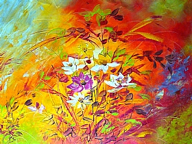 Nature et Flore, fleurs des champs - PEINTURES / Tableaux Faune & Flore