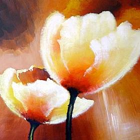 Nature et Flore, Fleurs au soleil - PEINTURES / Tableaux Faune & Flore