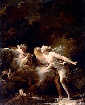 Jean-Honoré Fragonard, Fontaine de l'amour - GRANDS PEINTRES / Fragonard