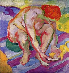 Franz Marc, Nu au chat - GRANDS PEINTRES / Marc