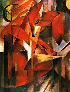 Franz Marc, Renards (1913) - GRANDS PEINTRES / Marc