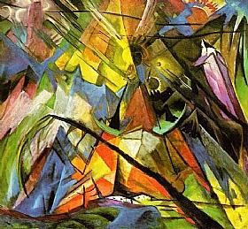 Franz Marc, Tyrol (1914) - GRANDS PEINTRES / Marc