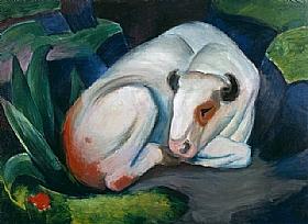 Franz Marc, La vache blanche - GRANDS PEINTRES / Marc