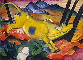 Franz Marc, La vache jaune - GRANDS PEINTRES / Marc