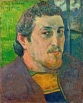 Paul Gauguin, Autoportrait - GRANDS PEINTRES / Gauguin