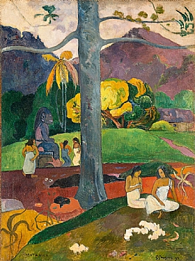 Paul Gauguin, Mata Mua - GRANDS PEINTRES / Gauguin