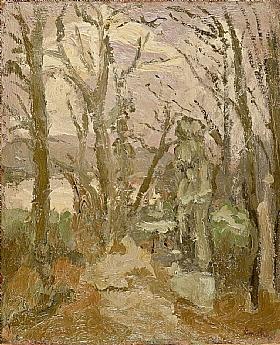 Georges Bouche, Arbres en hiver - GRANDS PEINTRES / Bouche