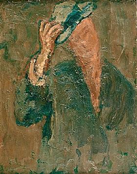 Georges Bouche, L'homme au chapeau - GRANDS PEINTRES / Bouche