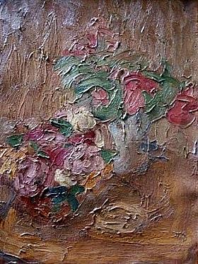 Georges Bouche, Bouquet de fleurs - GRANDS PEINTRES / Bouche