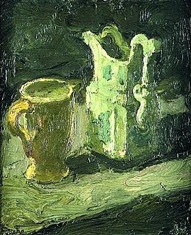 Georges Bouche, Pichet et pot - GRANDS PEINTRES / Bouche