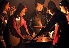 Georges de La Tour, Les joueurs de dés - GRANDS PEINTRES / De la Tour