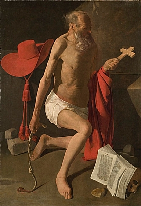 Georges de La Tour, Saint Jérome pénitent - GRANDS PEINTRES / De la Tour